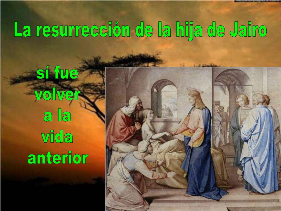 La resurrección de Jesús, más que un hecho sensible, fue algo sobrenatural.