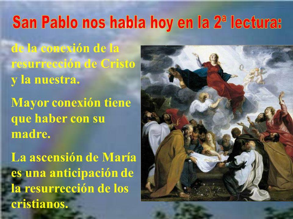Además del consenso general de obispos y pueblo, el papa tuvo en consideración: - Los testimonios de la liturgia. -El hecho de tener María un cuerpo a