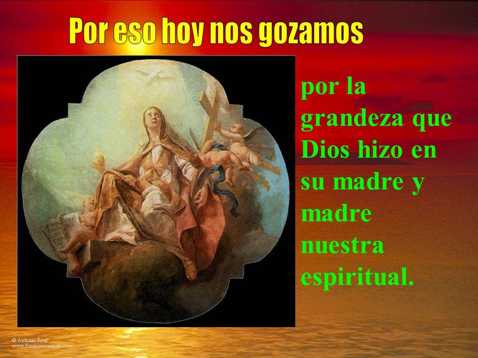 de la conexión de la resurrección de Cristo y la nuestra. Mayor conexión tiene que haber con su madre. La ascensión de María es una anticipación de la