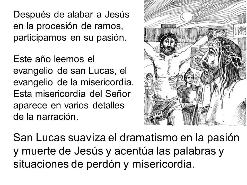 Hoy es día de contrastes ante Jesús.