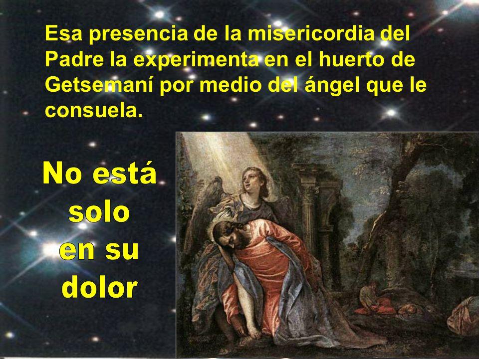 En la Pasión Jesús afronta sufrimientos indecibles, pero sabe que todo está dispuesto por el Padre y por ello confía plenamente hasta arrojarse en sus brazos, encomendando su espíritu.