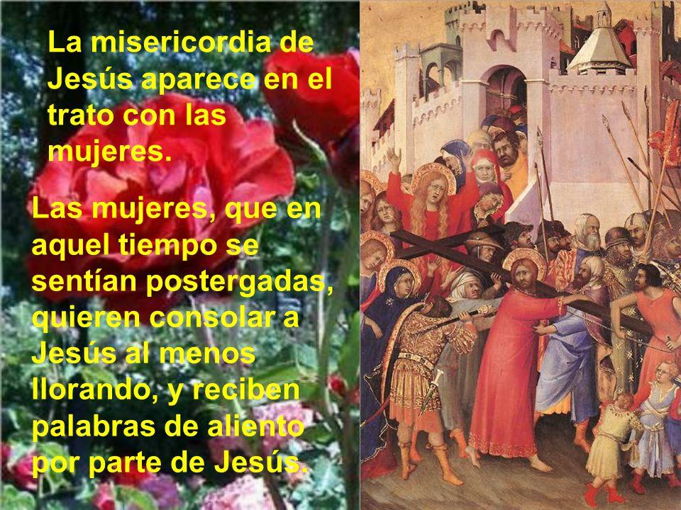 También cuando el buen ladrón pide un recuerdo y Jesús parece ensanchar su corazón para prometer la salvación.
