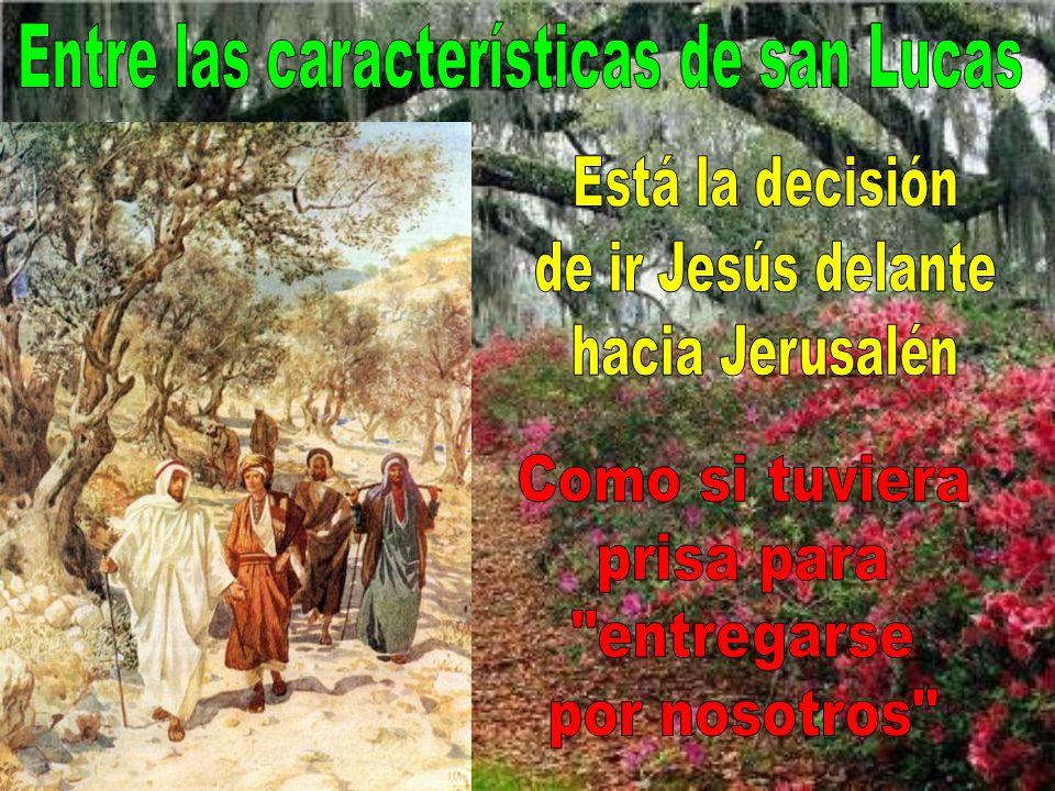Este año, por ser el ciclo C, se lee el evangelio de san Lucas. San Lucas es el evangelista de la misericordia, el que mejor refleja la sensibilidad d
