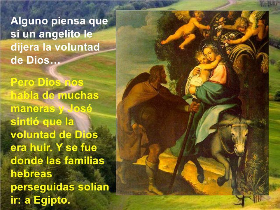 Dios no suele hacer milagritos en la vida ordinaria, y nunca Jesús los hizo para propio provecho. Si Dios hubiera querido salvar a Jesús, sin tener qu