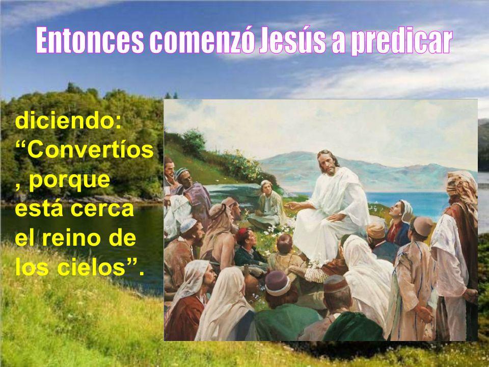 Así se cumplió lo que había dicho el profeta Isaías: País de Zabulón y país de Neftalí, camino del mar, al otro lado del Jordán, Galilea de los gentil