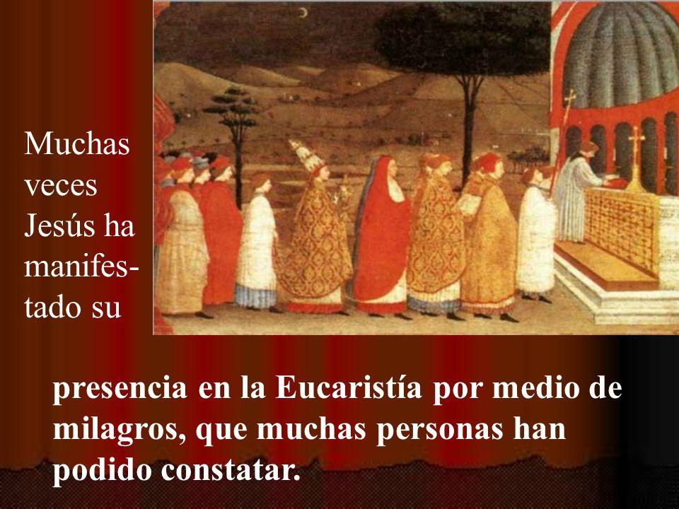 En este día del Corpus la Iglesia quiere que atendamos principalmente a la presencia real de Jesús en la Eucaristía.