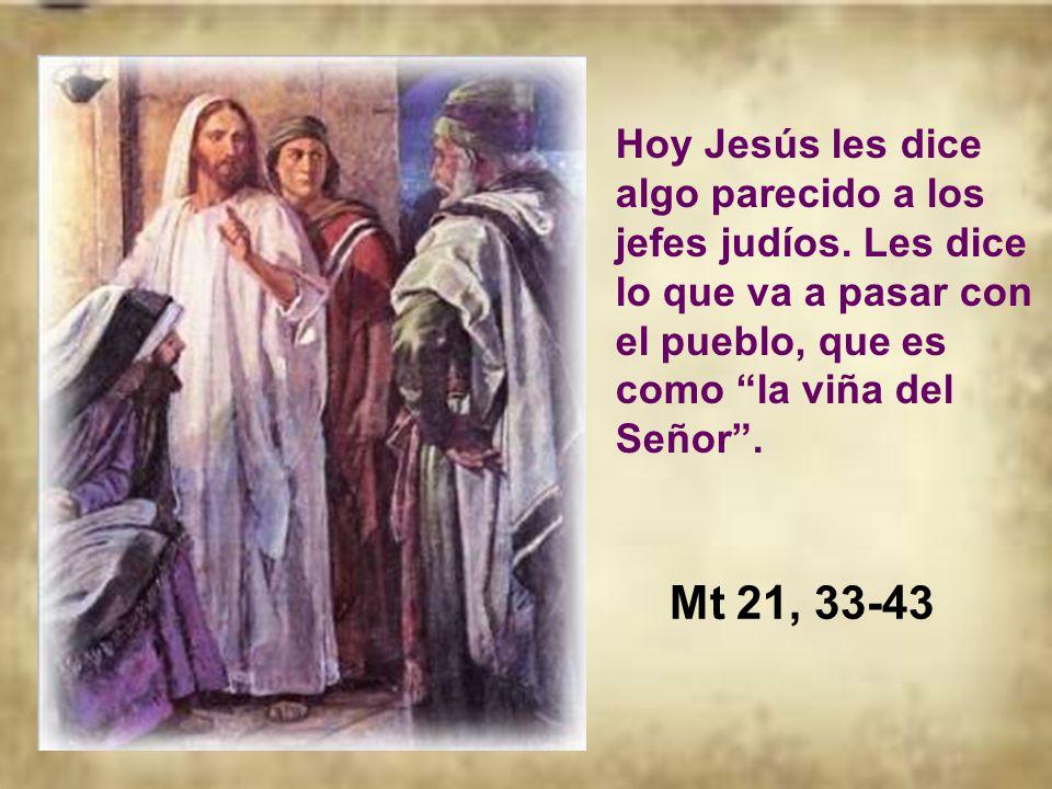 Y pasa a descubrir quién es el Dueño de esa viña, que es la casa o pueblo del Señor.