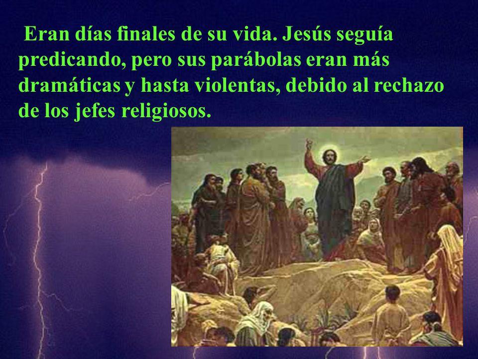 En aquel tiempo, dijo Jesús a los sumos sacerdotes y a los senadores del pueblo: