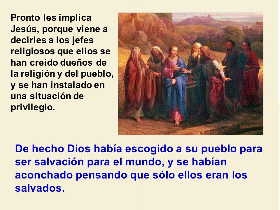 Jesús usa el mismo método que el profeta.