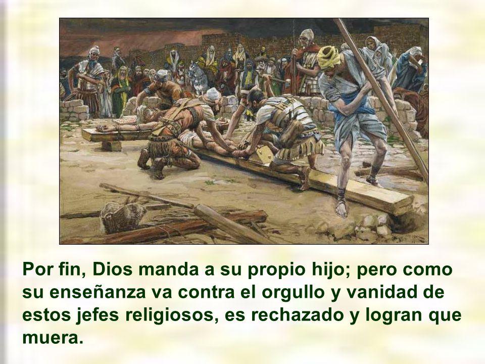 El último de los profetas sería san Juan Bautista.