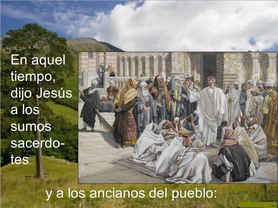 Llegaba el tiempo en que otros, tenidos por paganos y pecadores, serían los portadores de esta antorcha de Dios por el mundo. Una de las parábolas, co