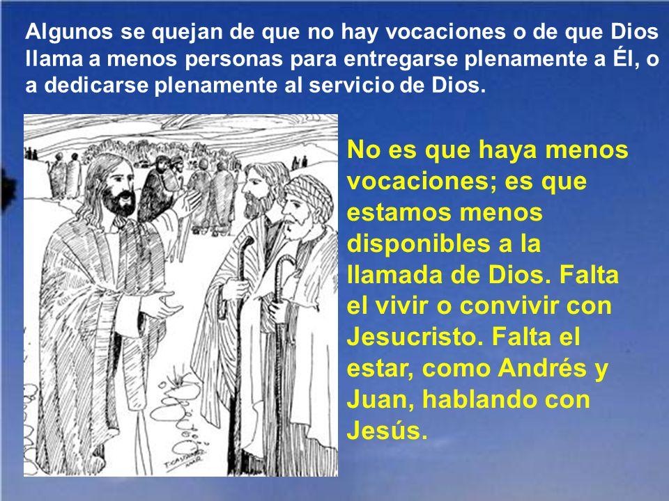 Se pretende buscar a Jesús, o la salvación, por muchos sitios o circunstancias equivocadas, por ambientes demasiado materialistas. Claro que no está s