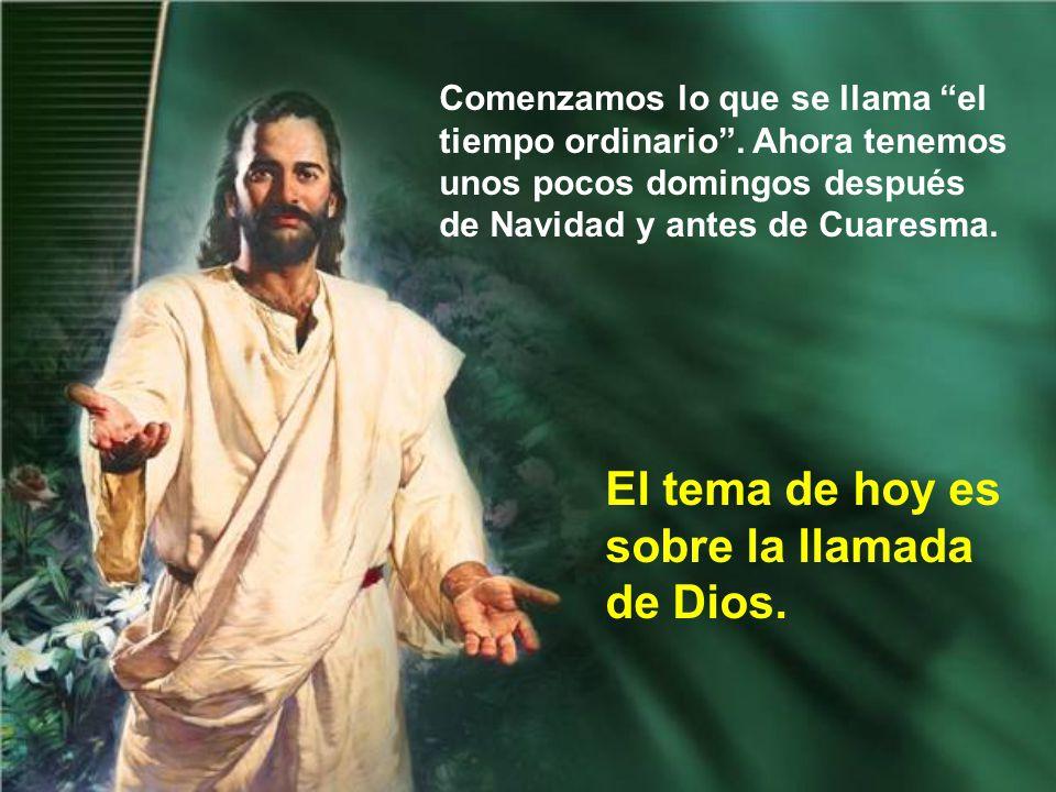 Se pretende buscar a Jesús, o la salvación, por muchos sitios o circunstancias equivocadas, por ambientes demasiado materialistas.
