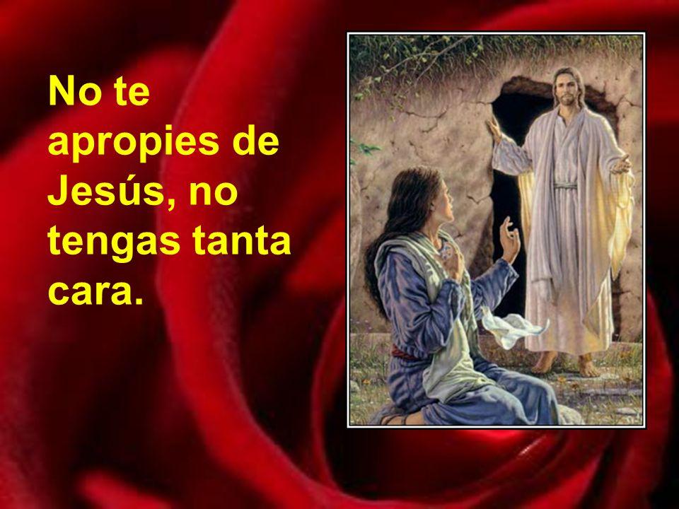 Así se lo dicen unos niños a María de Magdala: