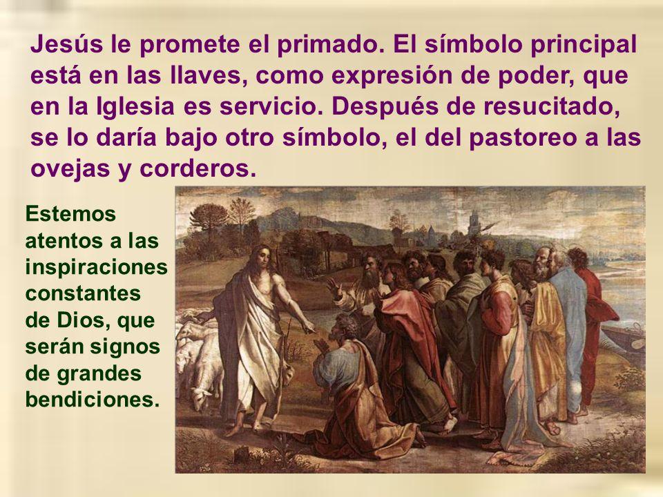 Seguro que, cuando san Pedro afirmó que Jesús era el Mesías, por su cabeza estarían aún las ideas triunfalistas. Mucho le costó a Jesús hacerles enten