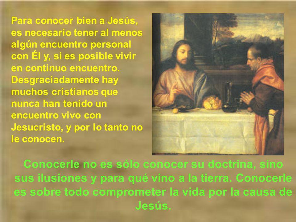 Hoy nos preguntamos: ¿Quién es Jesús para mi? No se trata de saber qué o quién fue en su vida mortal, sino qué es para mi en estos momentos. Nuestra r
