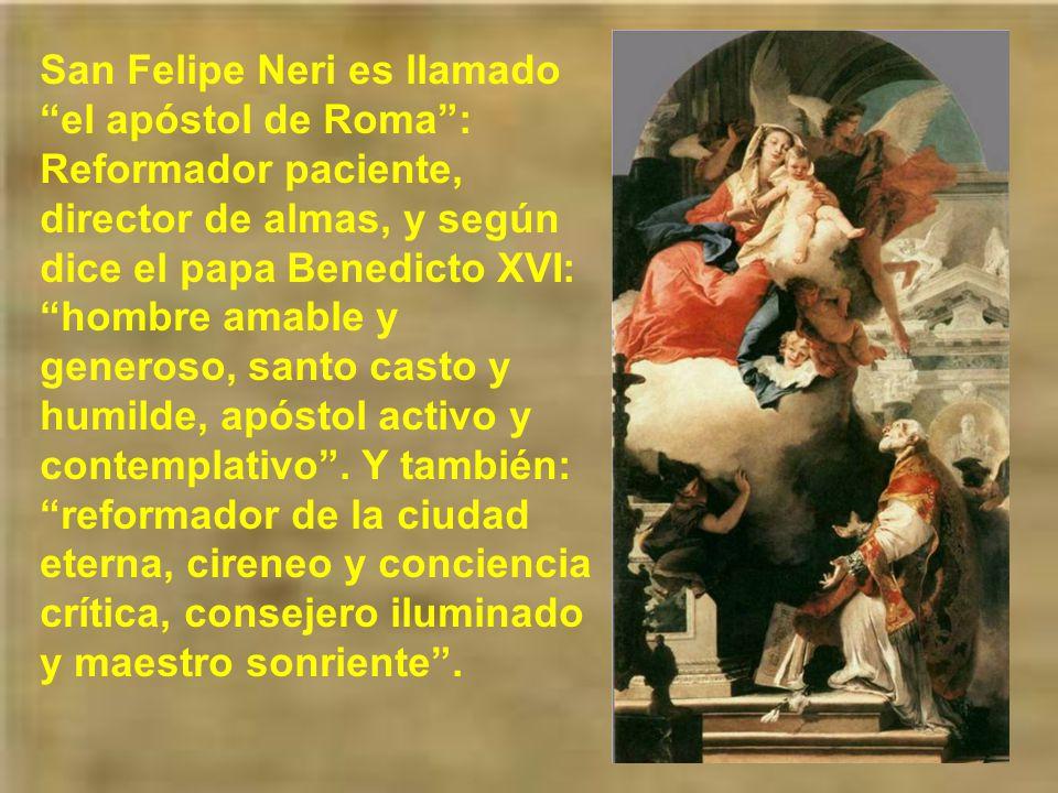 San Felipe, habiendo recibido tantos dones espirituales, se dedicaba plenamente a las obras de misericordia.