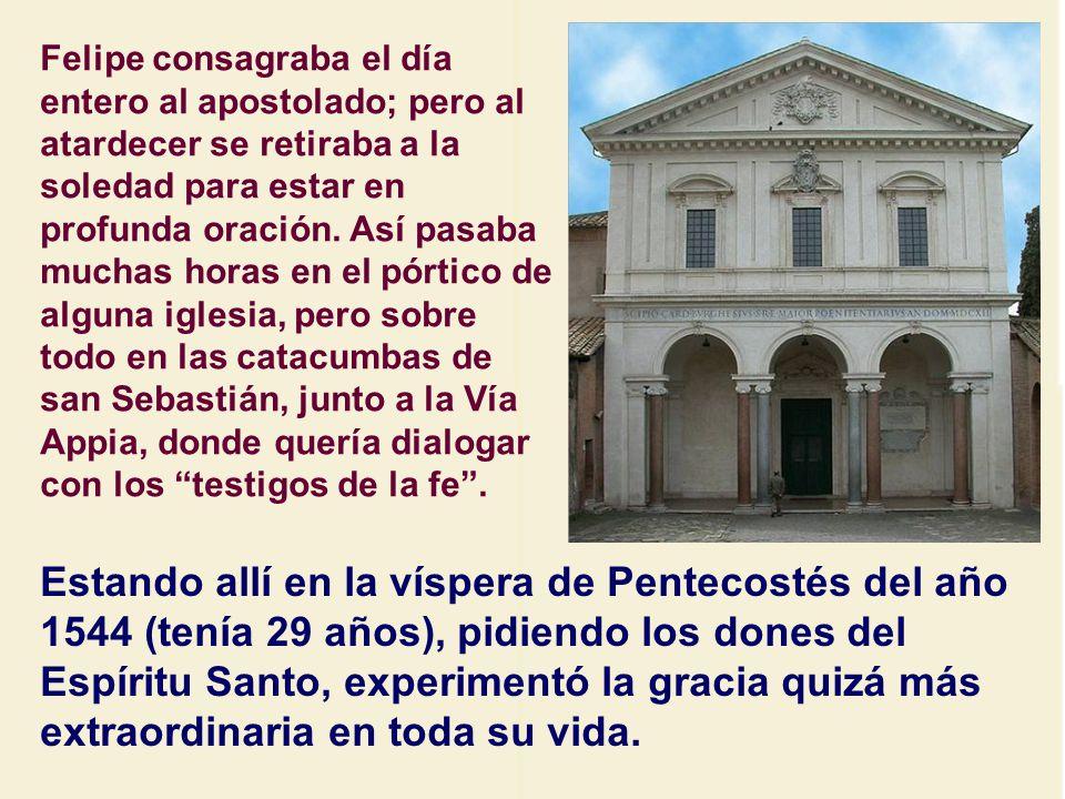 Una de las devociones principales era la visita a las 7 igle- sias.