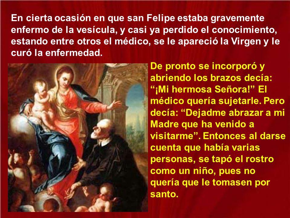 San Felipe Neri decidió hacer allí mismo una iglesia más grande para el mejor desarrollo de sus actividades apostólicas.
