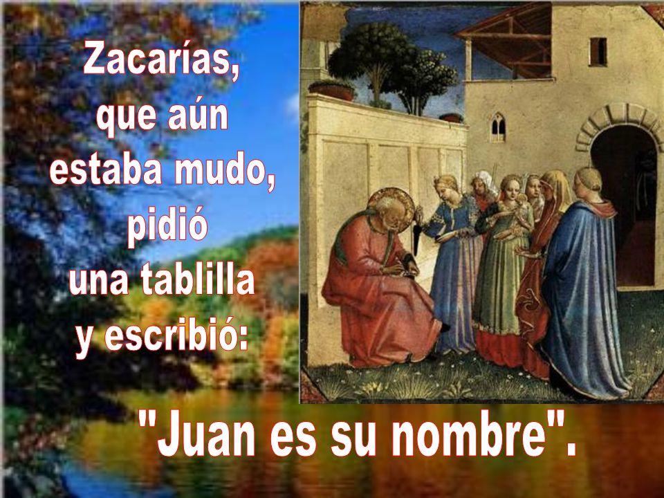 En verdad Dios había derramado su misericordia sobre aquellos padres, Zacarías e Isabel. Pero también derramaría su misericordia sobre los que aceptas