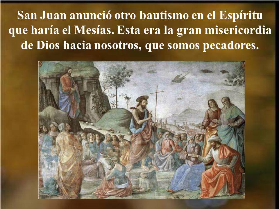 Aunque este bautismo tiene un significado más profundo.