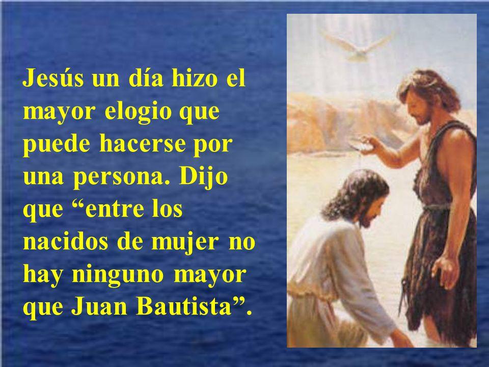 Todos debemos ser un poco como san Juan Bautista: anunciadores de la salvación de Dios y de su gran misericordia. Sobre todo ser fieles a la vocación