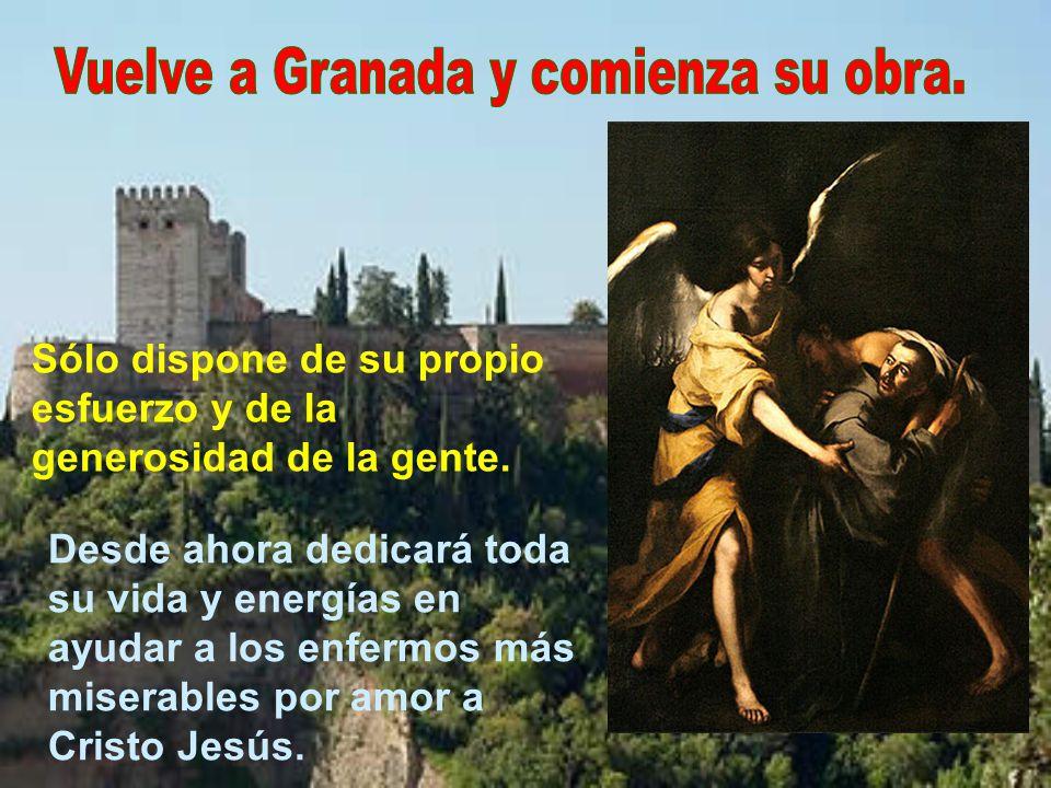 A la vuelta pasa una temporada con san Juan de Ávila en Baeza.