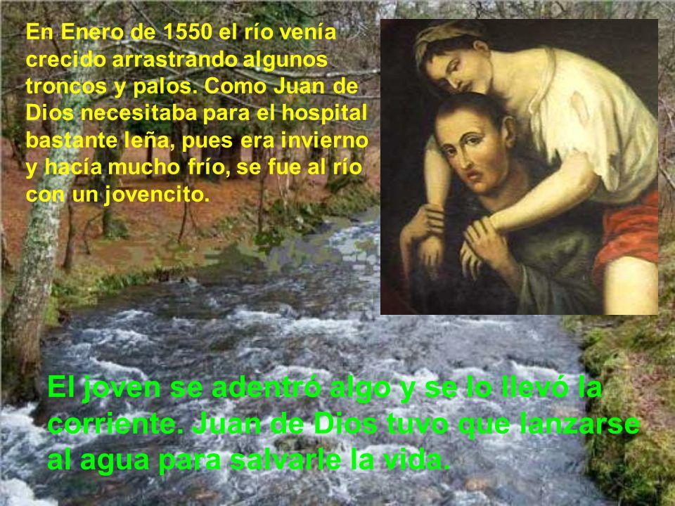 Su fama creció grandemente en Granada, de modo que sus amigos le compraron una casa grande en la cuesta Gomérez para fundar un nuevo y más grande hosp