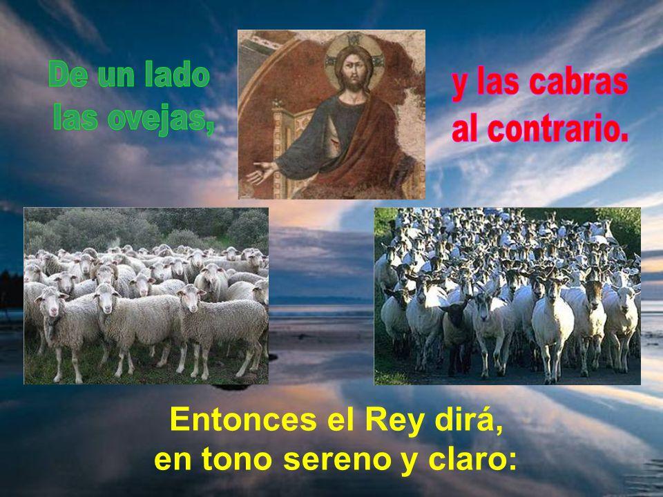 El hijo de Dios vendrá en gloria con sus ángeles, y a los pueblos llamará hasta él, para juzgarles. Automático