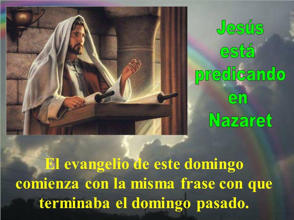 Y recuerda Jesús cómo, habiendo muchos leprosos en Israel en tiempos del profeta Eliseo, solamente fue curado: Naamán, el sirio.