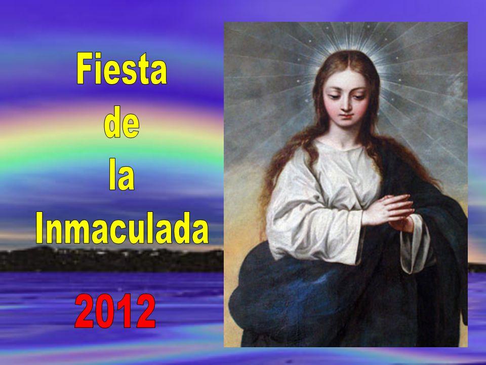 En el evangelio de este día aparece el ángel Gabriel saludando a María con esa expresión de llena de Gracia.