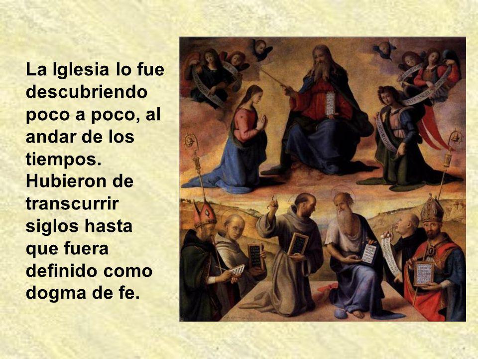 Es decir, por la autoridad que les dio Jesús a los apóstoles y a sus sucesores para interpretar dignamente mensajes que nos da la Sagrada Escritura. L