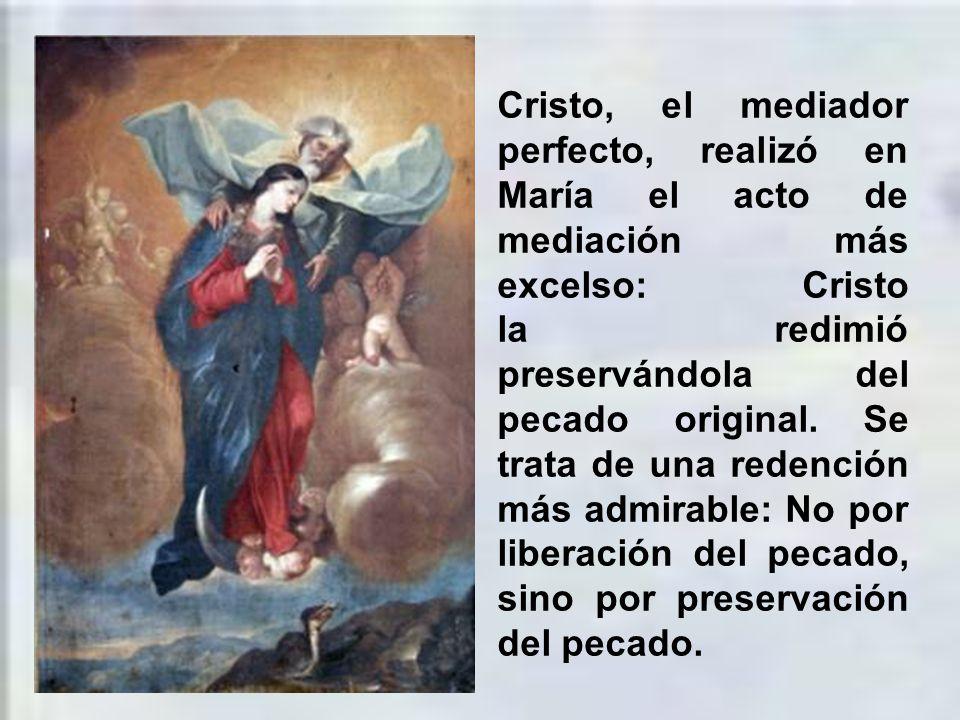 La concepción inmaculada de la Virgen María es un maravilloso misterio de amor por parte de Dios.