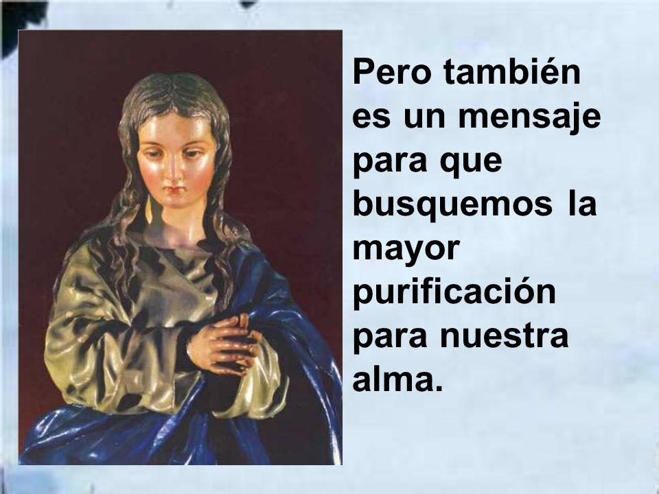 Por eso hoy nos alegramos al considerar la belleza de la Madre celestial.