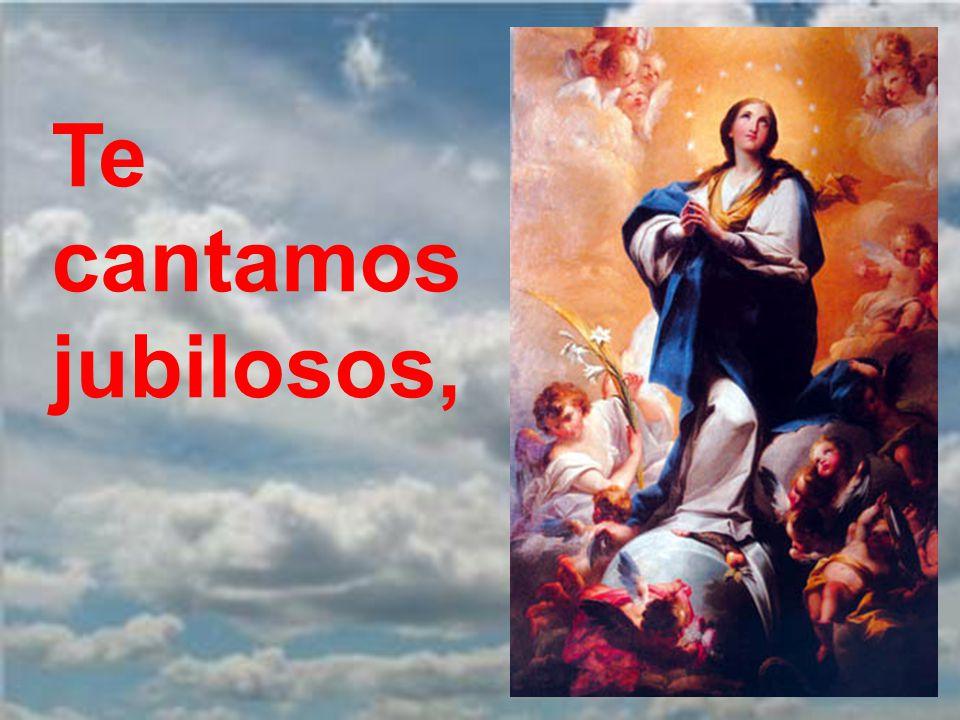 Dios te salve, María, llena eres de gracia.