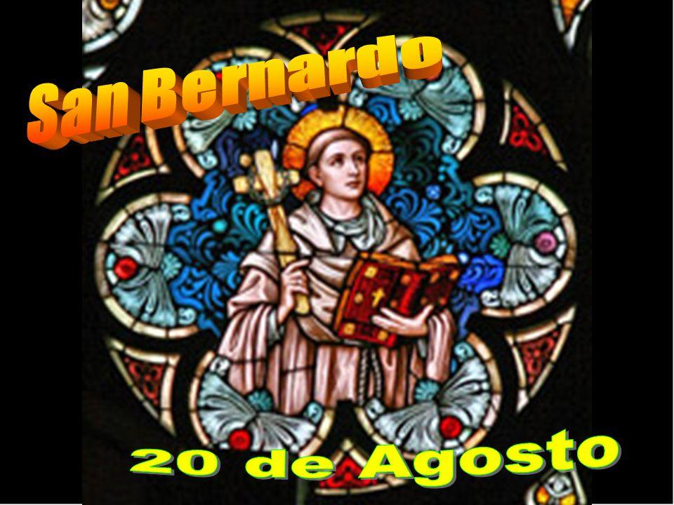 San Bernardo participó profundamente en la formación del espíritu cisterciense, cuya regla era, en la práctica, una crítica de la de Cluny, pues eran éstos ostentosos en gastos y lujo.