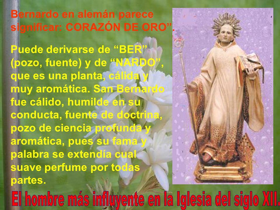Cuando entró, el Císter era el único convento.Al morir, eran 343.