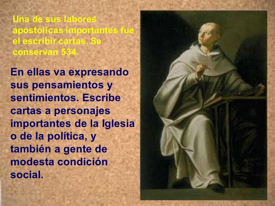 El obispo de la región, Guillermo de Champeaux, le ordenó sacerdote y le bendijo como abad. San Bernardo permane- cería como abad de Claraval hasta el