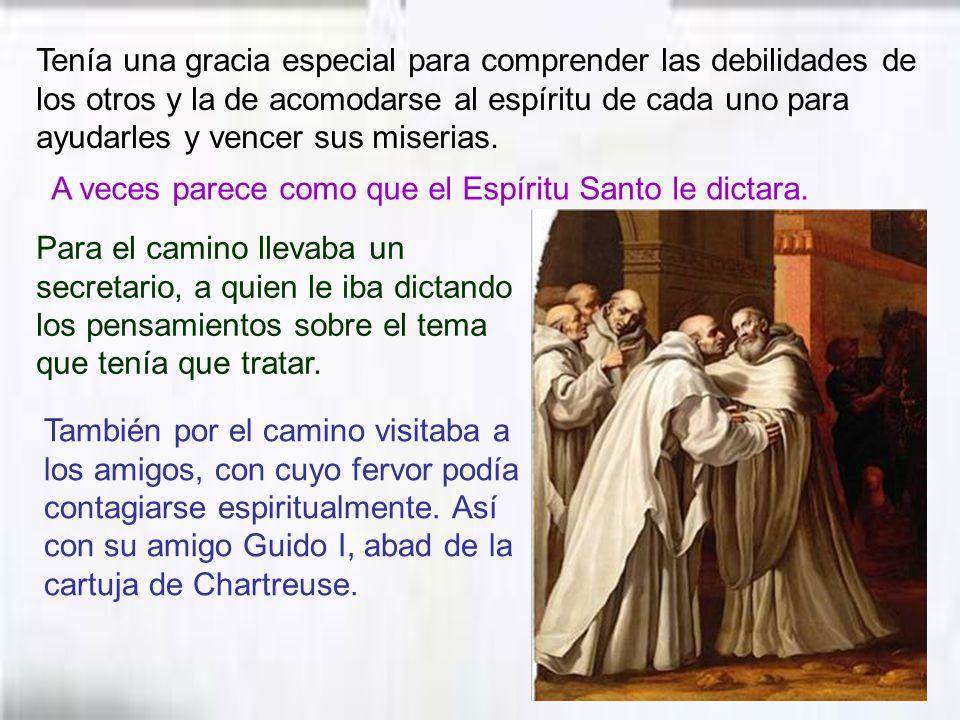 Por sus luchas a favor de la Iglesia, fue llamado una columna de la Iglesia. El papa Benedicto XIV decía: San Bernardo no es de los que solamente han