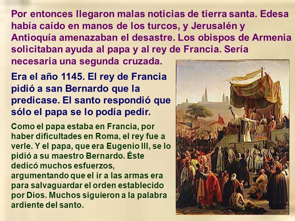 El mismo papa le pidió a san Bernardo le escribiera algunas notas que le ayudasen a ser buen papa. Entonces el santo escribió un tratado muy famoso, l