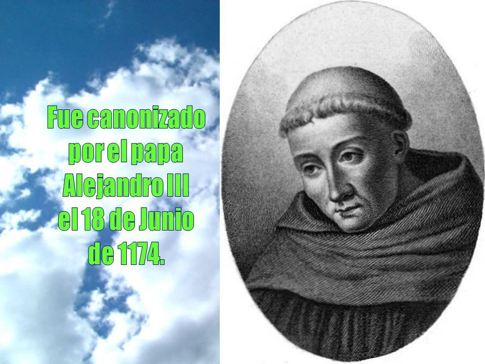 En 1153 enfermó gravemente y tuvo que quedarse en Claraval. Sus discípulos le pedían que pidiera a Dios el poder vivir unos años más para ayudarles. É