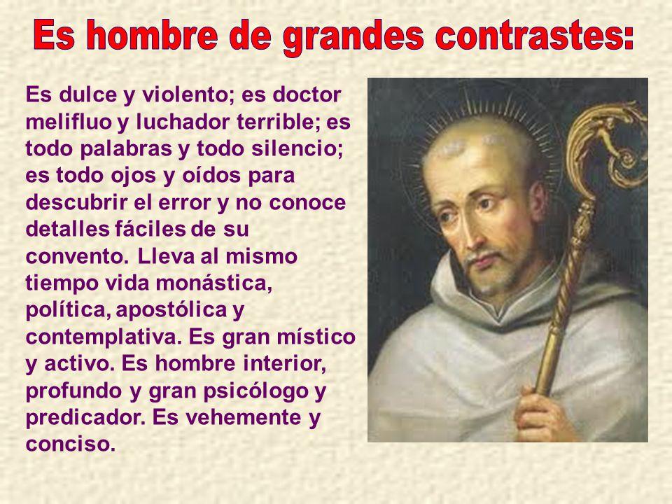 El joven Bernardo pidió a san Esteban poder ingresar en la comunidad.
