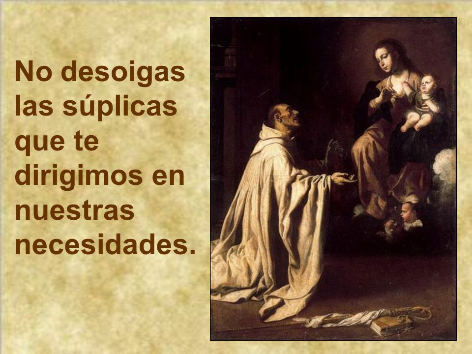 En los peligros, en las angustias, en las incertidumbres piensa en María, invoca a María.