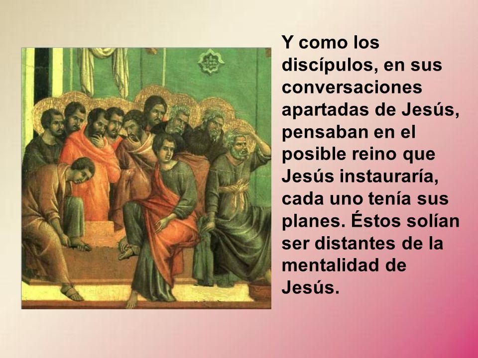 Iba Jesús adoctrinando a sus discípulos sobre algo que les costaba mucho entender. Era sobre el verdadero significado de Mesías, que no se refiere a t