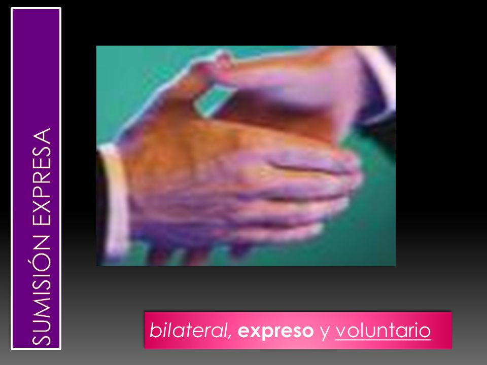 bilateral, expreso y voluntario