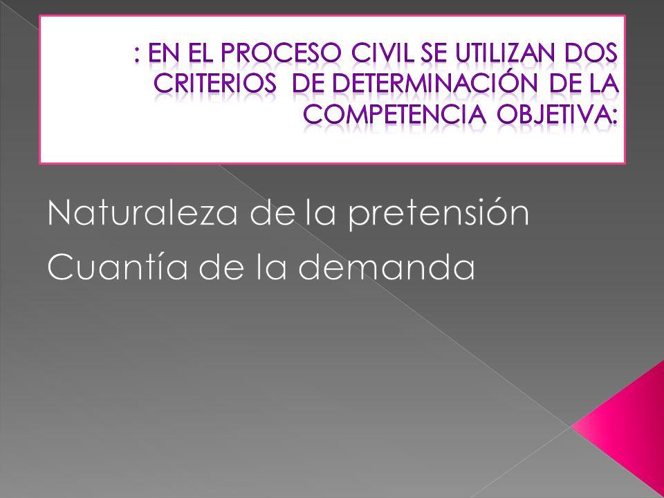 Arts. 52 y 53 LEC Se basan en criterios de diverso tipo: *ECONOMÍA PROCESAL *EFICACIA…….