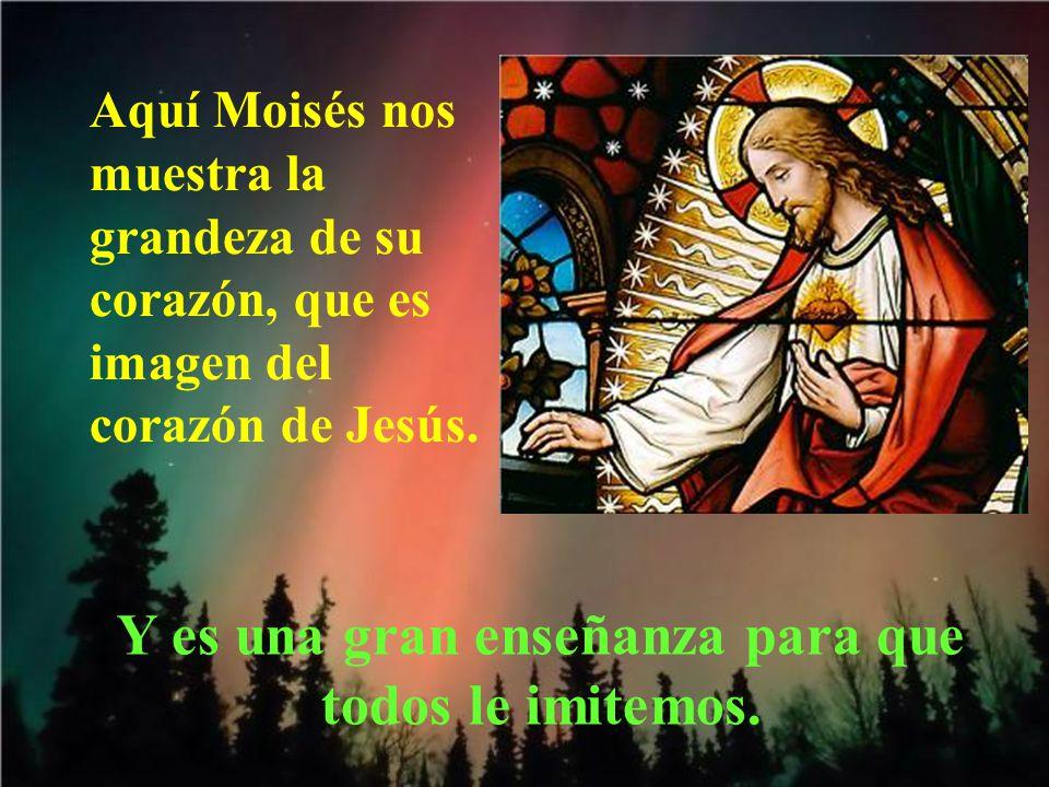 Moisés le respondió: