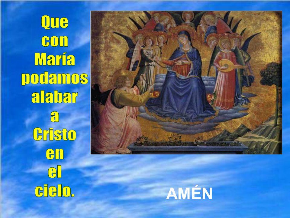 a Cristo, nuestro Salvador.