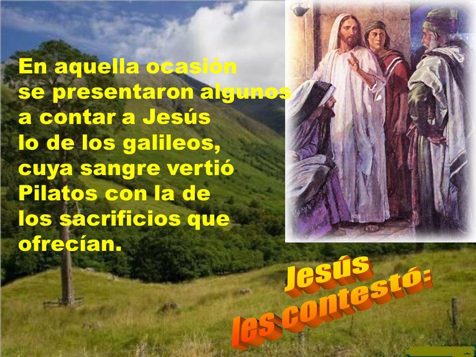 El mensaje del evangelio de este día es que no tenemos derecho o no debemos atribuir a Dios, como si fuesen castigos, los males de esta vida. Nos lo c