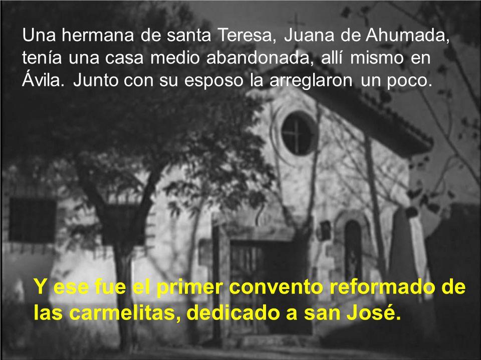 De nuevo san Pedro de Alcántara, el gran animador de la reforma de santa Teresa, no sólo la anima, sino que consigue que el Sr. Obispo autorice la nue